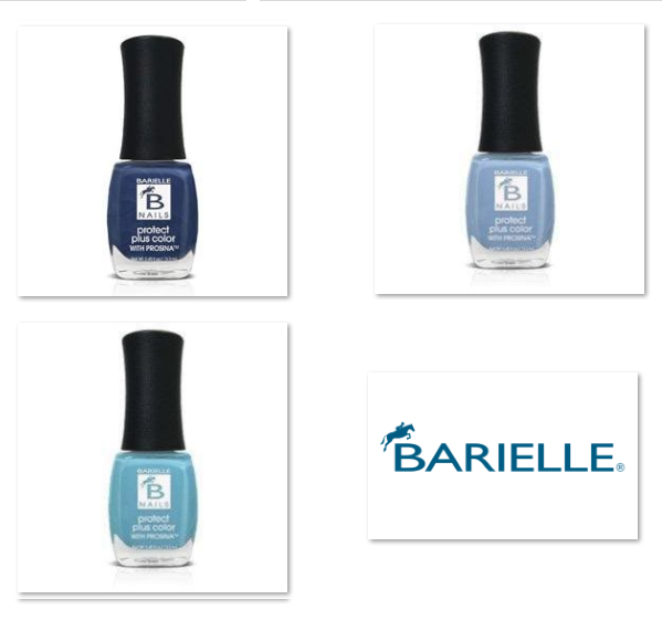 Barielle Protect Plus Nail Polish - Bountiful Blue 6-PC Collection: 6 Assorted Blue Nail Color Shades