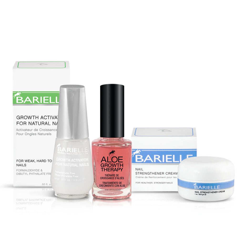 Barielle Get Them Growing Bundle 3-PC Set - Barielle - America's Original Nail Treatment Brand