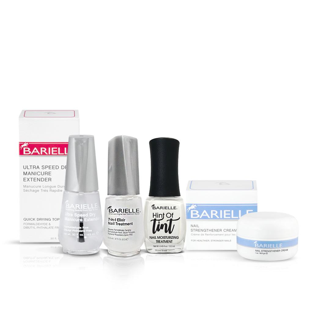 Barielle Get Nailed Bundle - Deluxe 4-PC Set - Barielle - America's Original Nail Treatment Brand
