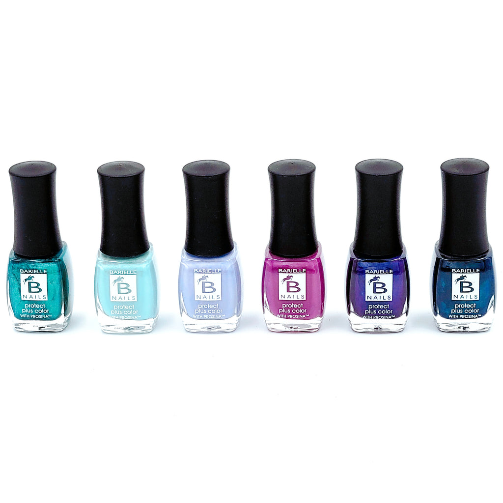 Barielle Winter Nights Protect Plus Nail Color Collection - 6-PC Nail Polish Set - Barielle - America's Original Nail Treatment Brand