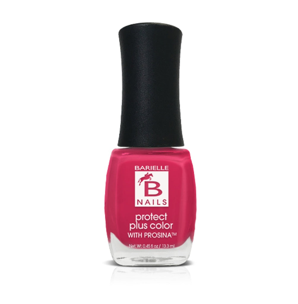 Barefoot in Bermuda (Creamy Hot Pink) - Protect+ Nail Color w/ Prosina - Barielle - America's Original Nail Treatment Brand
