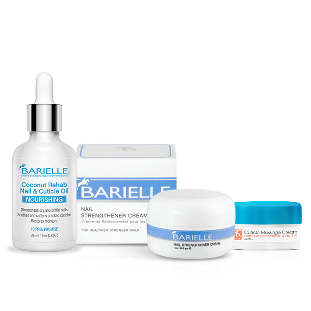 Barielle Perfect Cuticles Bundle 3-PC Set - Barielle - America's Original Nail Treatment Brand
