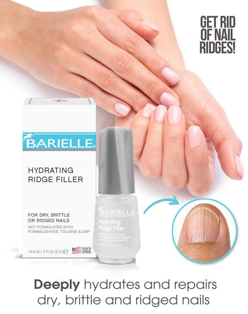 Barielle Hydrating Ridge Filler Base Coat .5 oz. - Barielle - America's Original Nail Treatment Brand