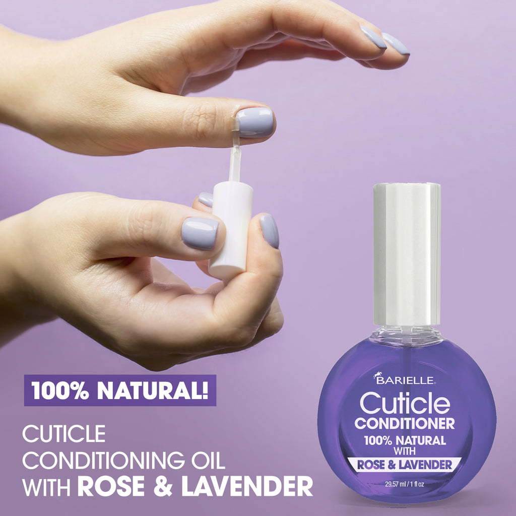 Barielle 100% Natural Cuticle Conditioner with Rose & Lavender 1 oz. - Barielle - America's Original Nail Treatment Brand