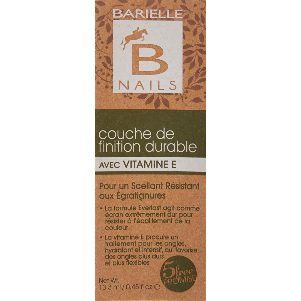 Barielle Everlast Top Coat with Vitamin E .45 oz. - Barielle - America's Original Nail Treatment Brand