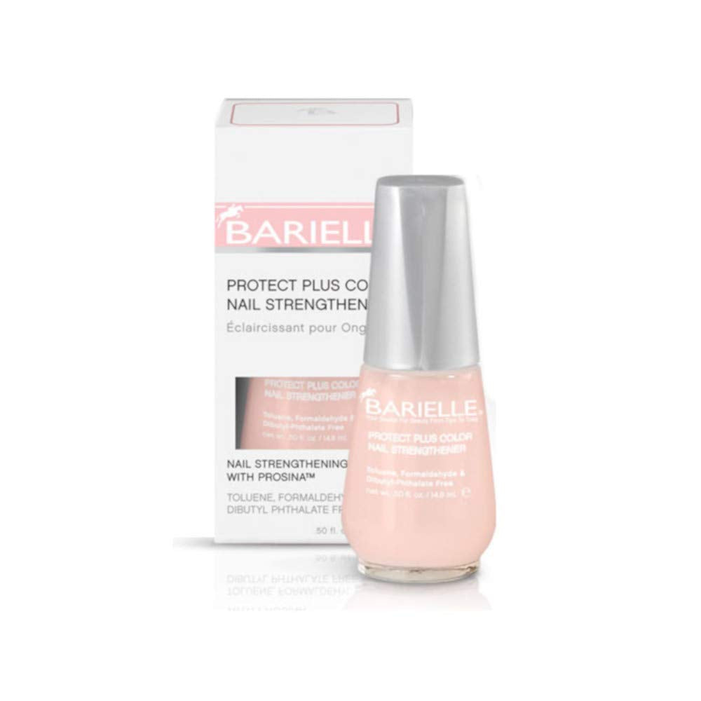 Barielle Protect Plus Color Nail Strengthener - Sheer Pink .5 oz. - Barielle - America's Original Nail Treatment Brand