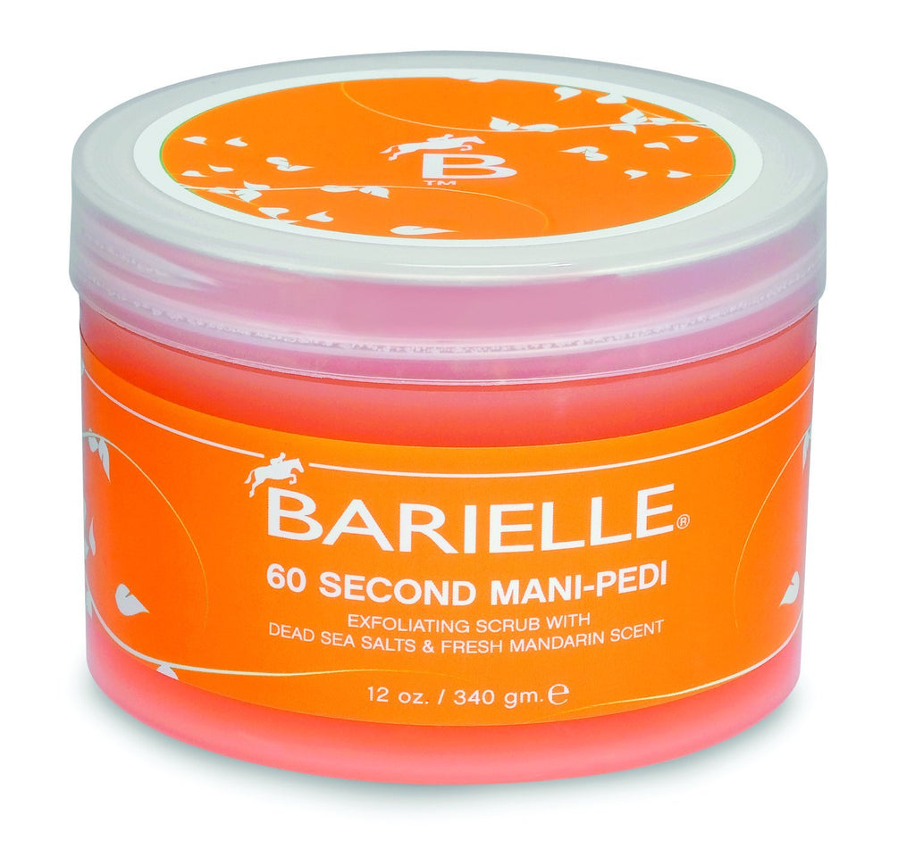Barielle 60 Second Mani-Pedi Dead Sea Salt Scrub 12 oz. - Barielle - America's Original Nail Treatment Brand