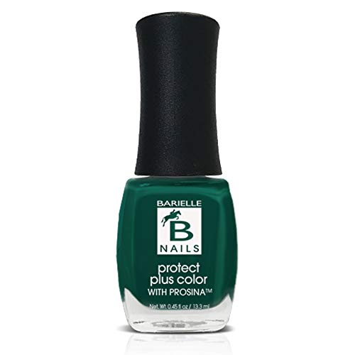 Protect+ Nail Color w/ Prosina - Born 2 B Naughty (A Creamy Winter Green) - Barielle - America's Original Nail Treatment Brand