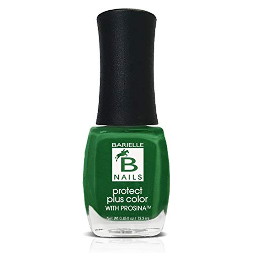 Lily of the Valley (An Irish Green w/ Shimmer) - Protect+ Nail Color w/ Prosina - Barielle - America's Original Nail Treatment Brand