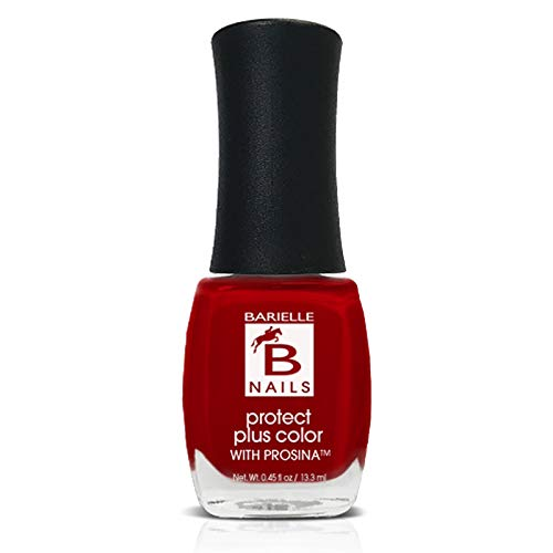 Protect+ Nail Color w/ Prosina - Vivacious (A Classic True Red) - Barielle - America's Original Nail Treatment Brand