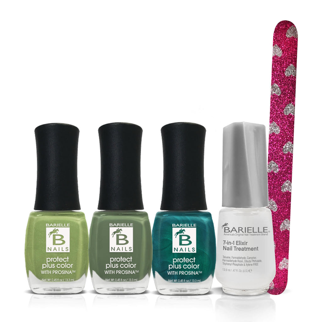 Barielle Shamrock Special 4-Piece Deluxe St Patricks Day Set - Barielle - America's Original Nail Treatment Brand
