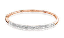 Load image into Gallery viewer, Diamond Pave bangle