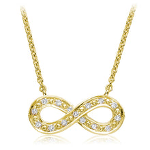 Load image into Gallery viewer, Diamond Infinity pendant