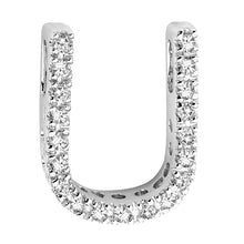 Load image into Gallery viewer, Diamond Initial Pendant