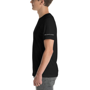 Short-Sleeve Unisex T-Shirt with side and back logo