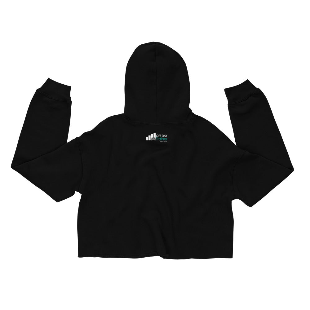 Off Day Trainer Crop Hoodie (women's)