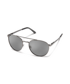 Suncloud Motorist Sunglasses-eyewear-Suncloud-Matte Gunmetal || Polarized Gray-Voltaire Cycles of Highlands Ranch Colorado