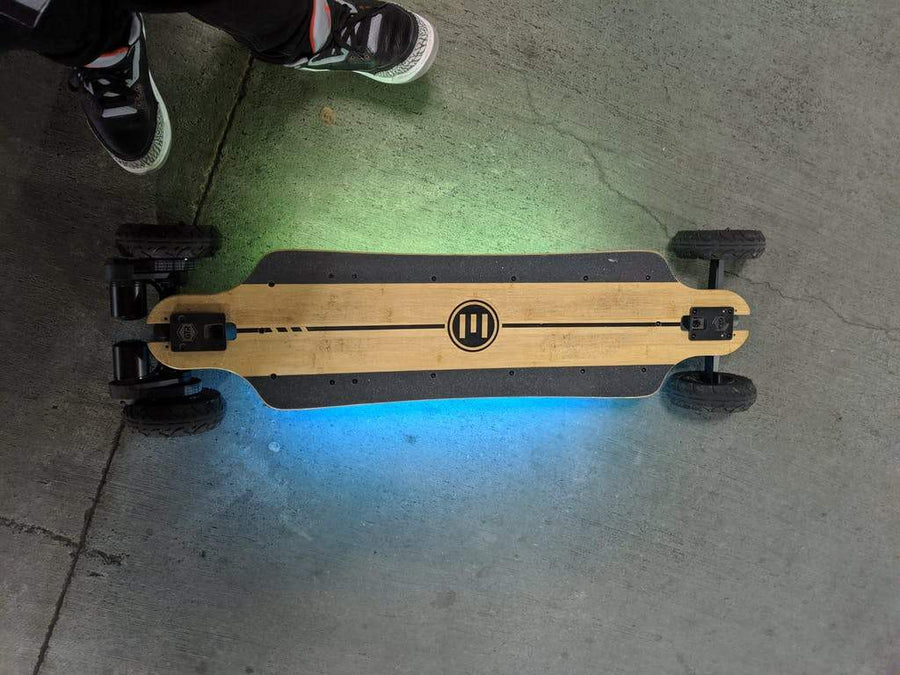 Evolve LED Lights - GTR Bamboo/Stoke-Electric Skateboard Parts-EVOLVE-Voltaire Cycles of Highlands Ranch Colorado