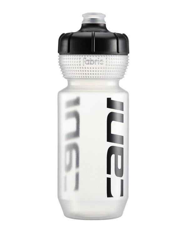 Cannondale Logo Water Bottle-Bicycle Water Bottles-Cannondale-Clear w/ Black 600ml-Voltaire Cycles of Highlands Ranch Colorado