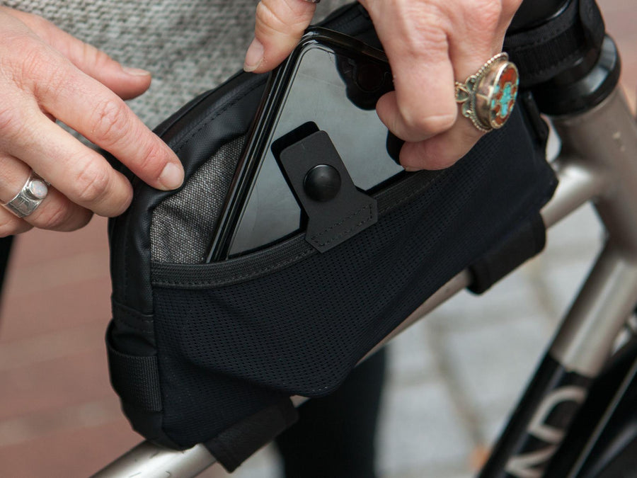 Two Wheel Gear Commute Top Tube Bag-Two Wheel Gear-Voltaire Cycles of Highlands Ranch Colorado