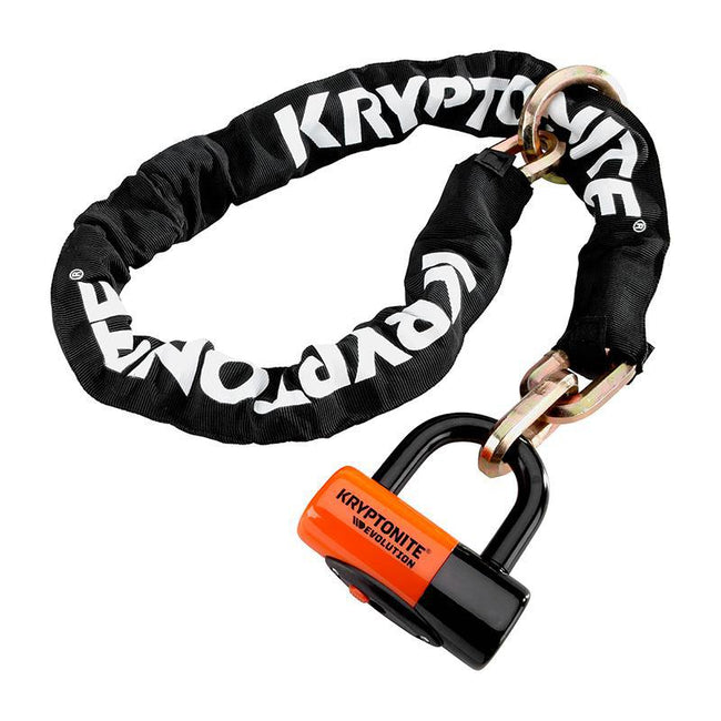 Kryptonite New York Cinch Ring Chain 1213 Lock-Bicycle Locks-Kryptonite-Voltaire Cycles of Highlands Ranch Colorado