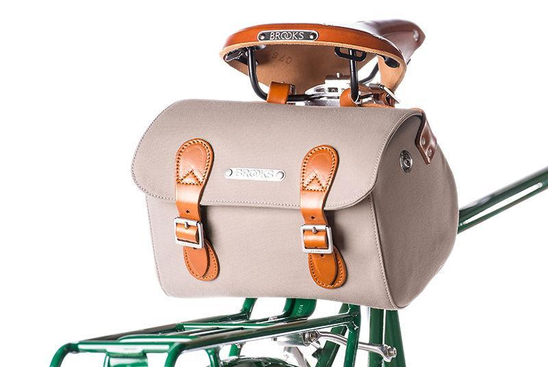 Brooks England Millbrook Holdall Handlebar / Seat Bag-Bicycle Handlebar Bags-Brooks England-Voltaire Cycles of Highlands Ranch Colorado