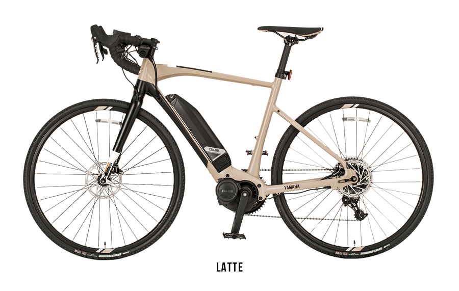 Yamaha Wabash E-Bike-Electric Bicycle-Yamaha-Small (53 cm)-Latte-Voltaire Cycles of Highlands Ranch Colorado