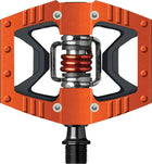 Crankbrothers Doubleshot Bike Pedals: Orange-Bicycle Pedals-CrankBrothers-Voltaire Cycles of Highlands Ranch Colorado