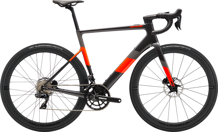 Cannondale SuperSix EVO NEO 1-Electric Bicycle-Cannondale-Graphite Medium-Voltaire Cycles of Highlands Ranch Colorado
