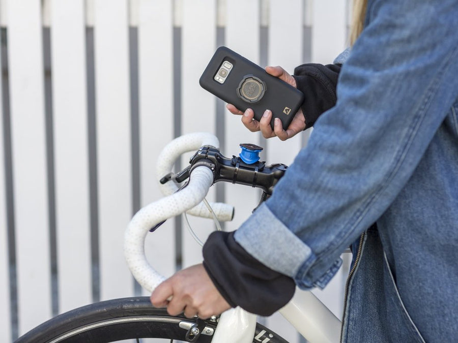 QuadLock Samsung S10 Case-Bicycle Phone Mounts-Annex-Voltaire Cycles of Highlands Ranch Colorado