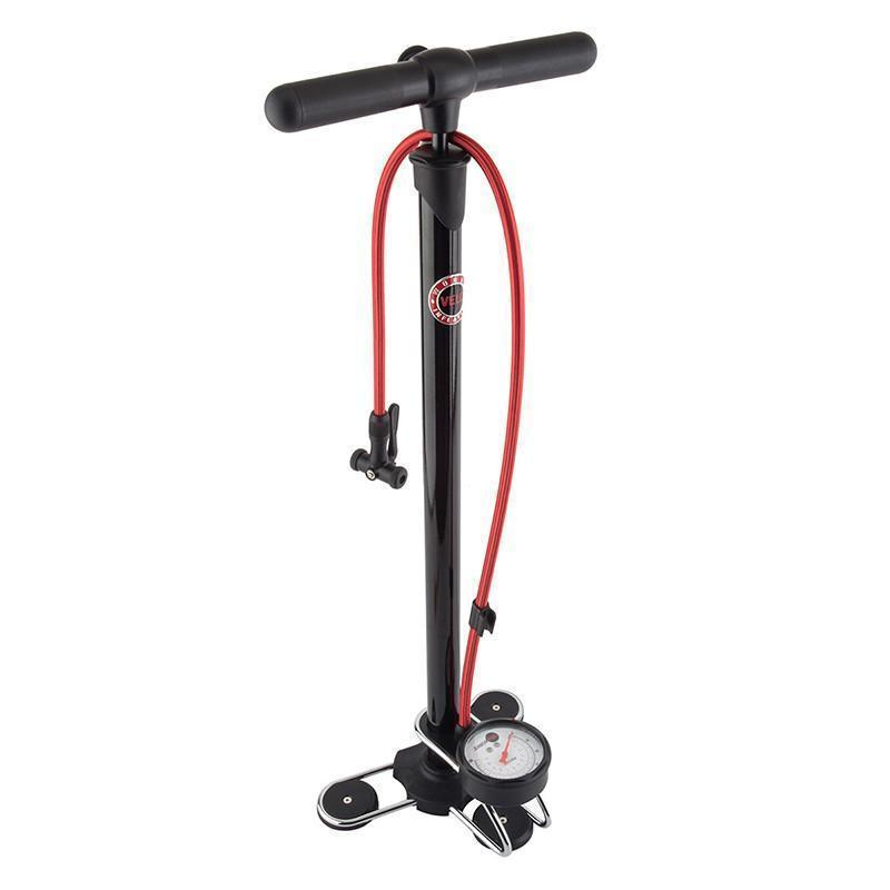 Velowurks Element Floor Pump-Bicycle Pumps-Velowurks-Voltaire Cycles of Highlands Ranch Colorado