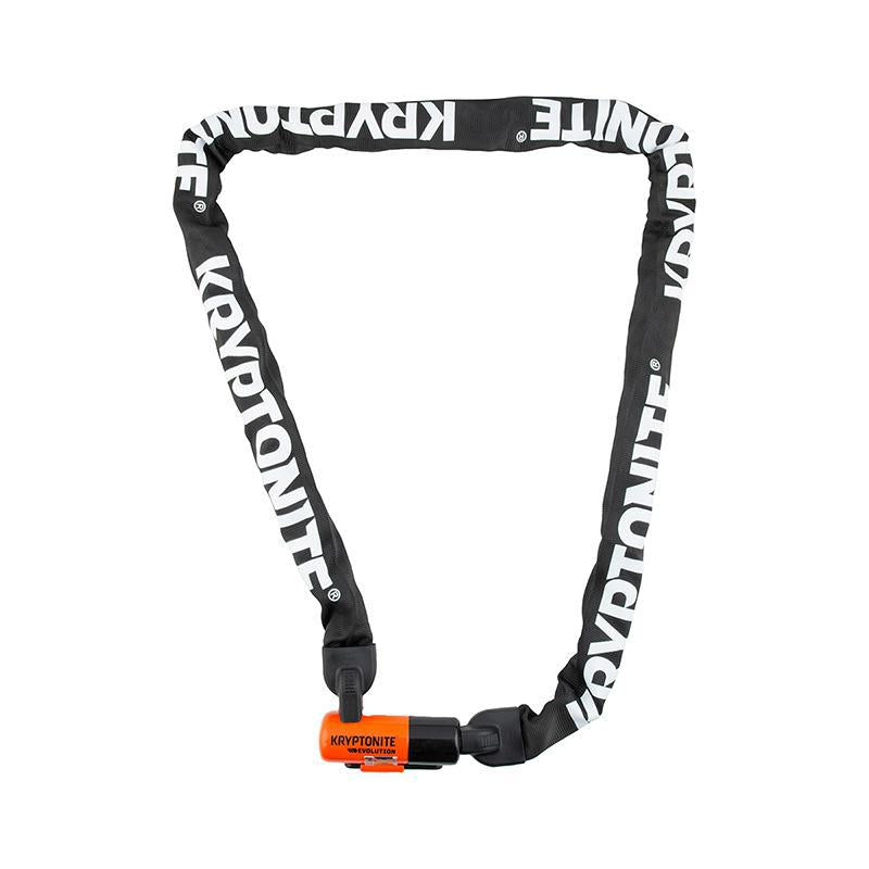 Kryptonite Evolution Series 4 Integrated Chain Lock-Bicycle Locks-Kryptonite-Voltaire Cycles of Highlands Ranch Colorado