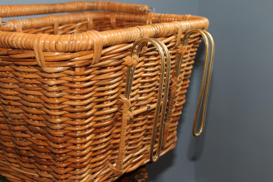 Nantucket Cisco Dutch Front Basket, with Hooks-Nantucket-Voltaire Cycles of Highlands Ranch Colorado
