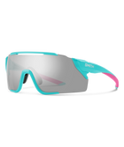 Smith Attack MAG MTB Sunglasses-Smith Optics-Matte Iceberg || ChromaPop Platinum Mirror-Voltaire Cycles of Highlands Ranch Colorado