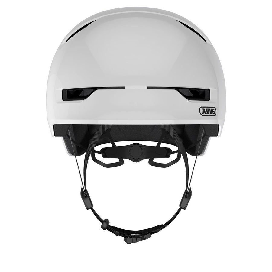 ABUS Scraper Kid 3.0 Helmet-Helmets-Abus-Medium 54-58 cm-Shiny White-Voltaire Cycles of Highlands Ranch Colorado