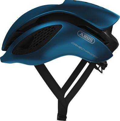 ABUS Aero Helmet GameChanger-Helmets-Abus-Steel Blue-Small 51-55 cm-Voltaire Cycles of Highlands Ranch Colorado