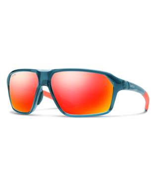 Smith Pathway Sunglasses-Eyewear-Smith Optics-Crystal Mediterranean || ChromaPop Red Mirror-Voltaire Cycles of Highlands Ranch Colorado