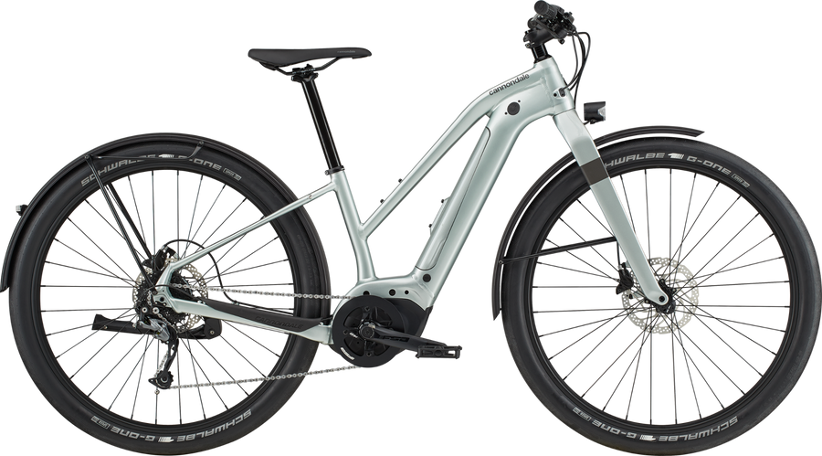 Cannondale Canvas Neo 2 Remixte-Electric Bicycle-Cannondale-Sage Gray Large-Voltaire Cycles of Highlands Ranch Colorado
