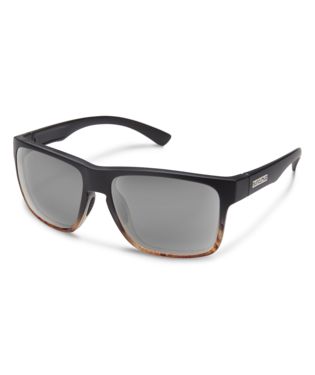 Suncloud Rambler Sunglasses-eyewear-Suncloud-Black Tortoise Fade || Polarized Gray-Voltaire Cycles of Highlands Ranch Colorado
