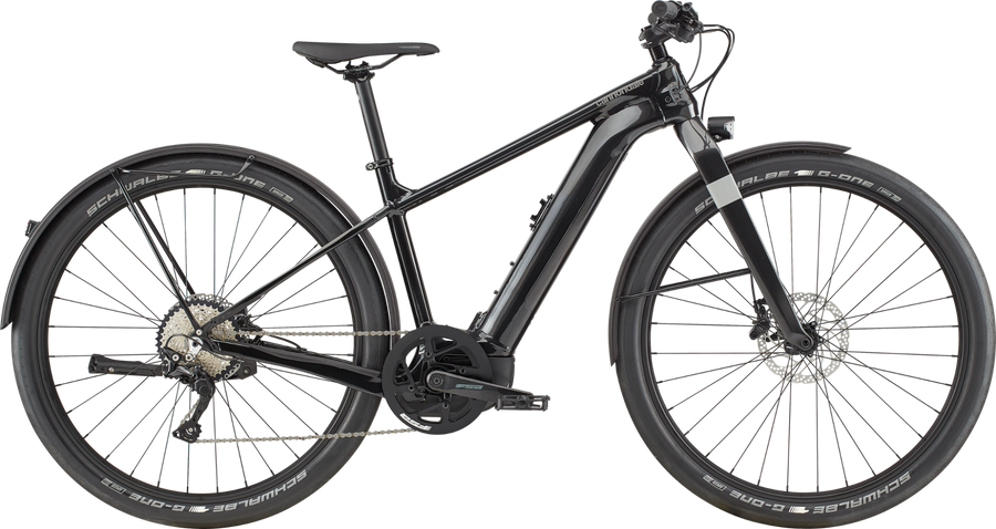 Cannondale Canvas Neo 1-Electric Bicycle-Cannondale-Large Black Pearl-Voltaire Cycles of Highlands Ranch Colorado