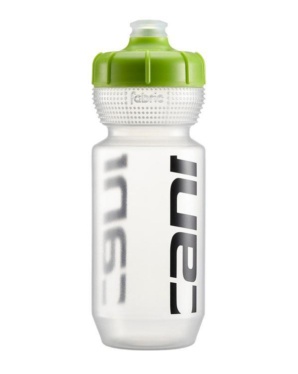 Cannondale Logo Water Bottle-Bicycle Water Bottles-Cannondale-Clear w/ Green 600ml-Voltaire Cycles of Highlands Ranch Colorado