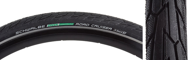 Road Cruiser Active Twin K-Guard-Bicycle Tires-Schwalbe-Voltaire Cycles of Highlands Ranch Colorado