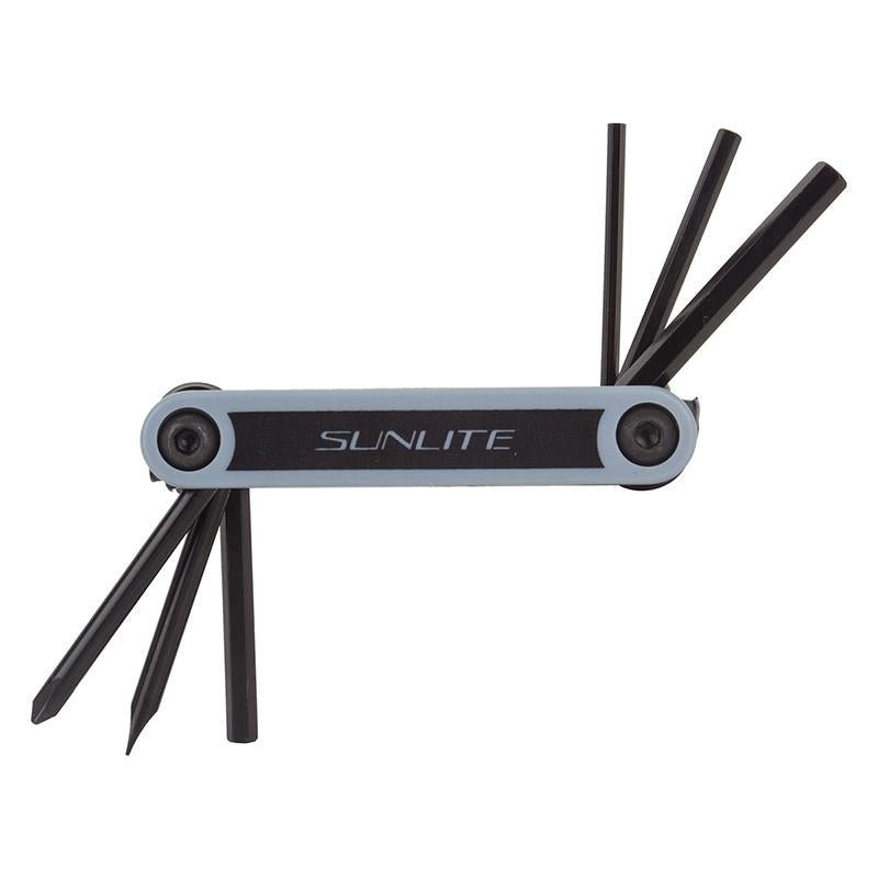 Sunlite OMT-6 Bicycle Multi-Tool-Bicycle Tools-Sunlite-Voltaire Cycles of Highlands Ranch Colorado