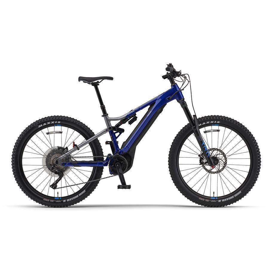 Yamaha YDX Moro Pro Electric Mountain Bike-Electric Bicycle-Yamaha-Small-Voltaire Cycles of Highlands Ranch Colorado