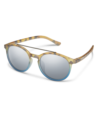 Suncloud Belmont Sunglasses-eyewear-Suncloud-Matte Tortoise Blue Fade || Polarized Silver Mirror-Voltaire Cycles of Highlands Ranch Colorado