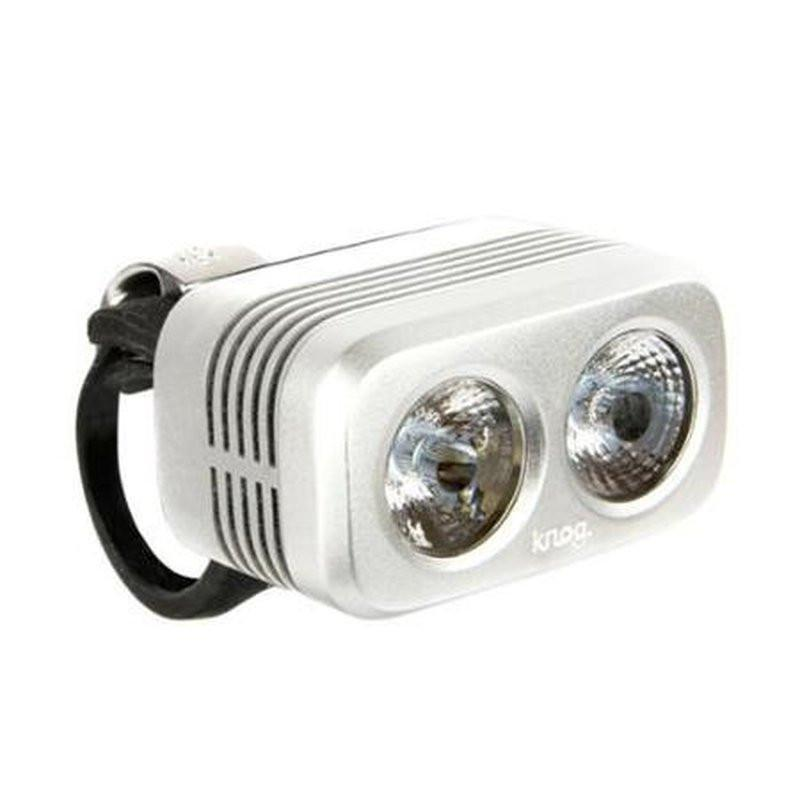 KNOG Blinder Road 400-Bicycle Lights-KNOG-Silver-Voltaire Cycles of Highlands Ranch Colorado