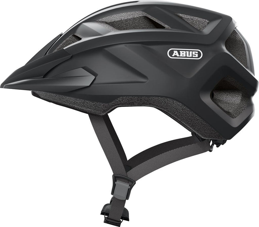 Abus MountZ Helmet-Voltaire Cycles of CO-Medium (52-57cm)-Velvet Black-Voltaire Cycles of Highlands Ranch Colorado