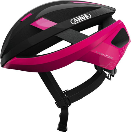 ABUS Road Helmet Viantor-Helmets-Abus-Small 51-55 cm-Fuchsia Pink-Voltaire Cycles of Highlands Ranch Colorado