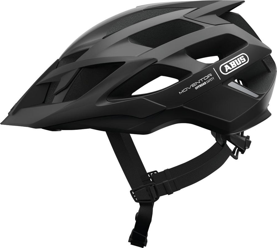 ABUS Mountainbike Helmet Moventor-Helmets-Abus-Medium 52-57 cm-Velvet Black-Voltaire Cycles of Highlands Ranch Colorado