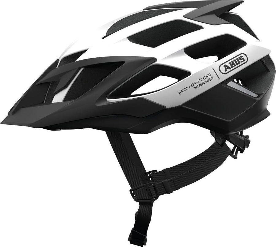 ABUS Mountainbike Helmet Moventor-Helmets-Abus-Medium 52-57 cm-Polar White-Voltaire Cycles of Highlands Ranch Colorado